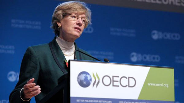 OECD's deep concern over trade slowdown