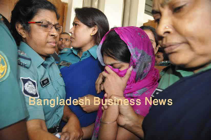 Bangladeshi girl Oishee to die for killing parents