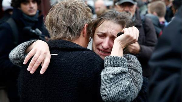 Paris hit by 'three teams of attackers'