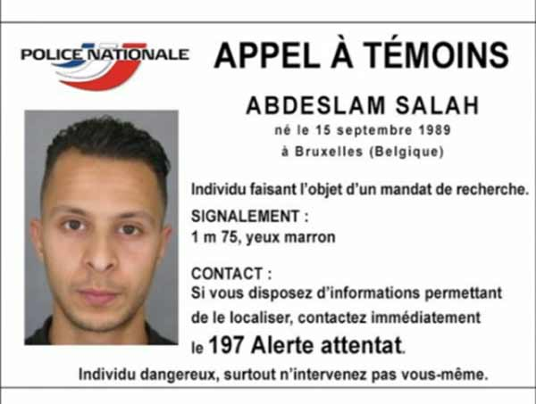 Manhunt for Paris attacks suspects