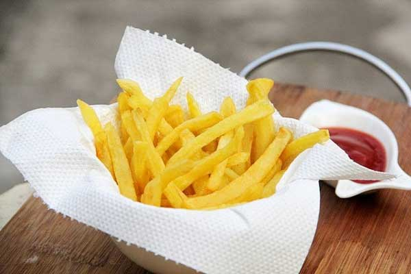 Homemade perfect frozen french fries recipe