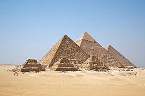 Egypt pyramids scan finds mystery heat spots