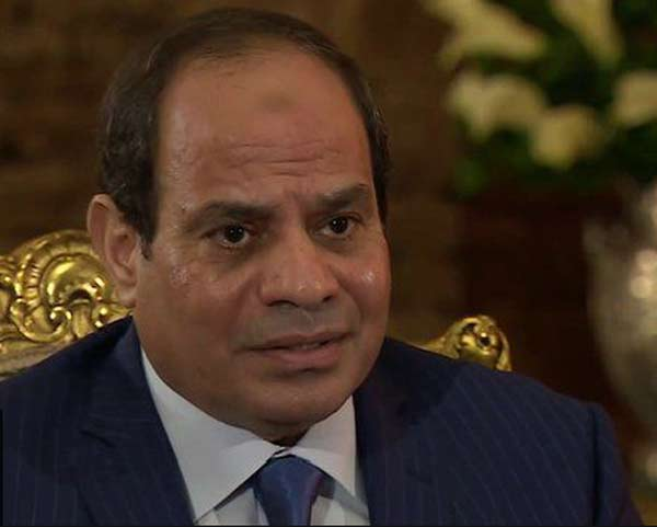 Sisi defends Egypt's sweeping security laws