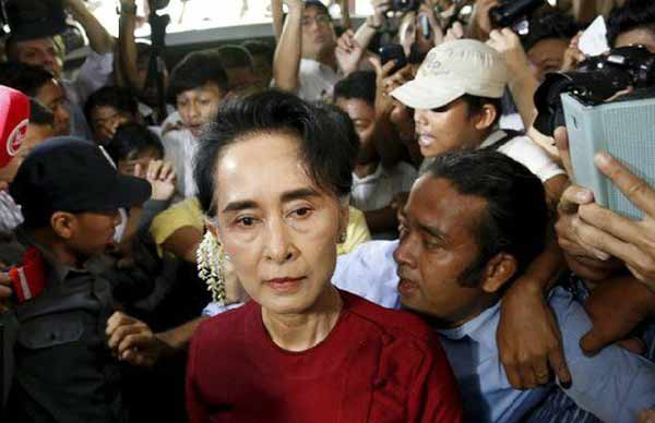 Myanmar elections: Suu Kyi's party on course to claim victory