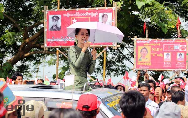 Suu Kyi seeks talks with military