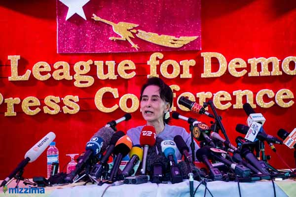 Suu Kyi predicts election majority