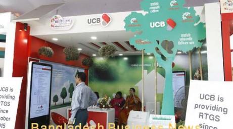 UCB keeps importance on promoting its branding by expanding virtual banking at Banking Fair Bangladesh-2015