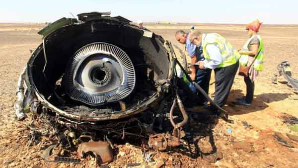 Sinai plane crash: Victims flown back to Russia