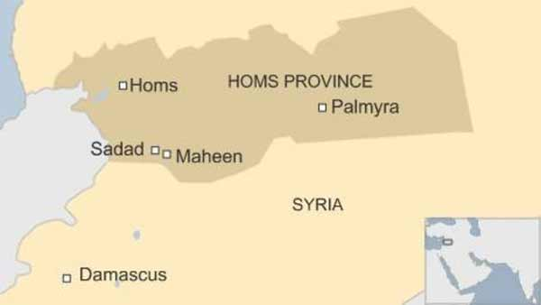 IS captures town in central Syria