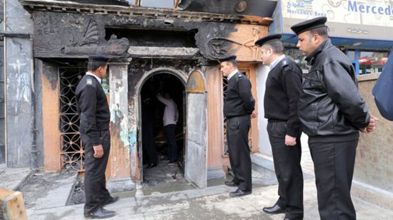 Cairo restaurant firebomb attack kills 16