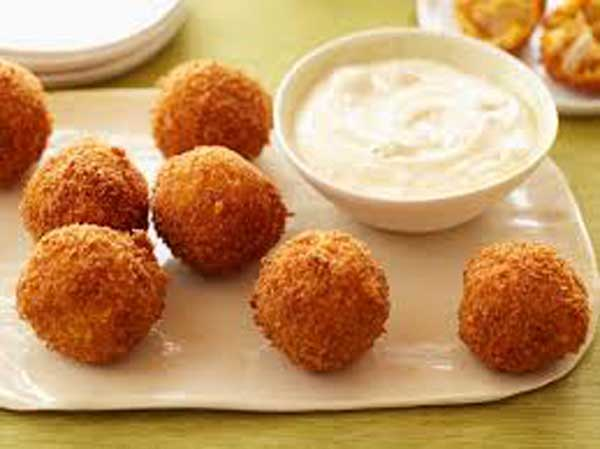 Kids special chicken balls