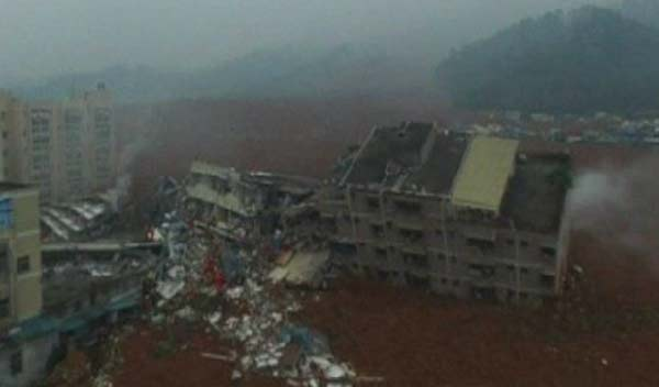 First body found in China landslide