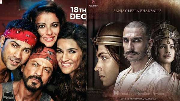 Dilwale vs Bajirao: Six big clashes in the past