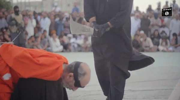ISIS beheads 2 for practicing 'magic' in front of crowd