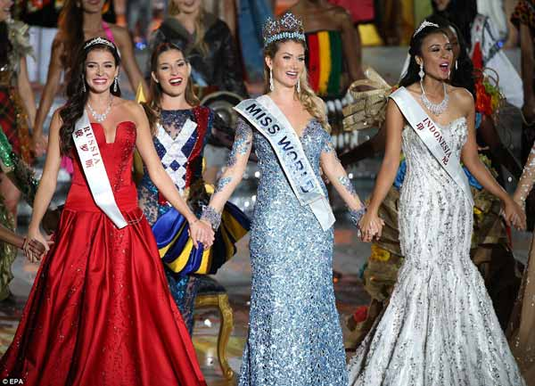 Miss World 2015: Spains wins crown in China