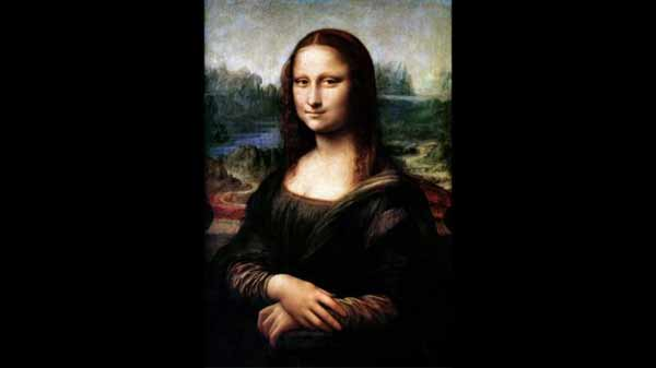 Hidden portrait found under Mona Lisa