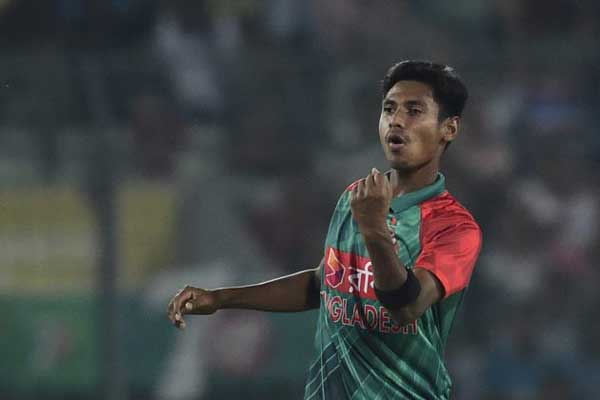 Mustafizur Rahman first Bangladeshi in ICC ODI Team of 2015