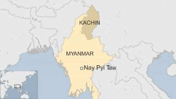 'Many missing' in Myanmar landslide