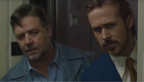 The Nice Guys trailer: Russell Crowe and Ryan Gosling have a blast