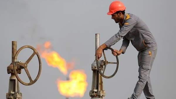 Oil price falls below $35 a barrel to fresh 11-year low