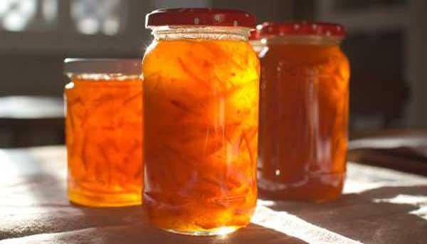 Orange marmalade, a winter recipe