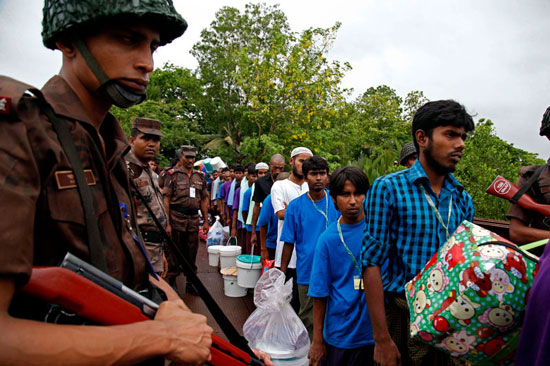 Return of Bangladesh nationals from Burma completed