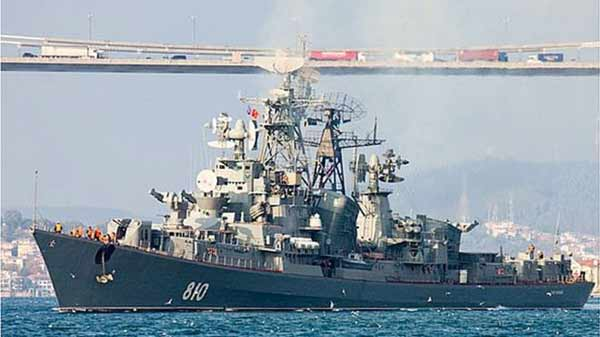 Russian ship fires shots at Turkish boat