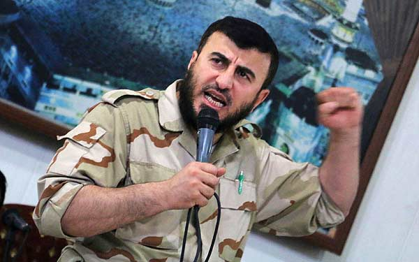 Syrian rebel leaders die in air strike