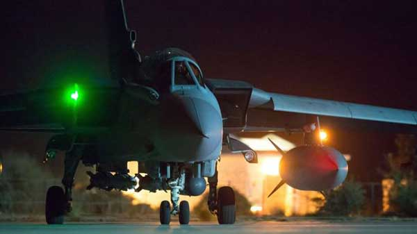 UK launches first Syria air strikes