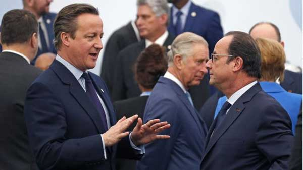 COP21: UK under fire on climate policy