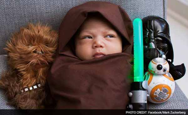 The Force Awaken-ed: Max is World's youngest Star Wars fan