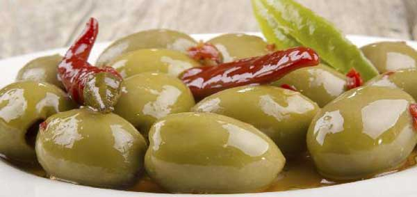 Winters sweet olive pickle
