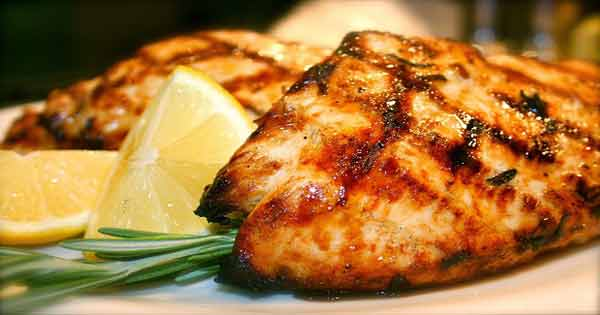 Easy grilled lemon chicken