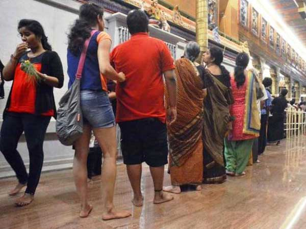 Dress code not an issue in South Indian Temples
