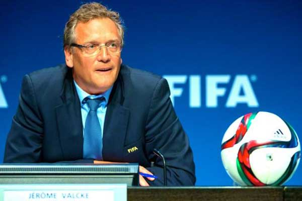 Fifa sacks secretary general Valcke
