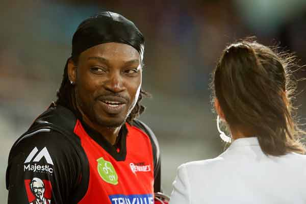 Gayle avoids suspension over interview