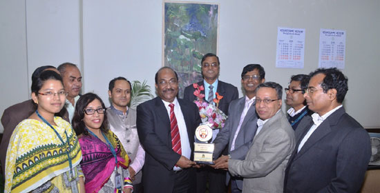 BB Deputy Governor SK Sur Chowdhury gets ICM Award-2016