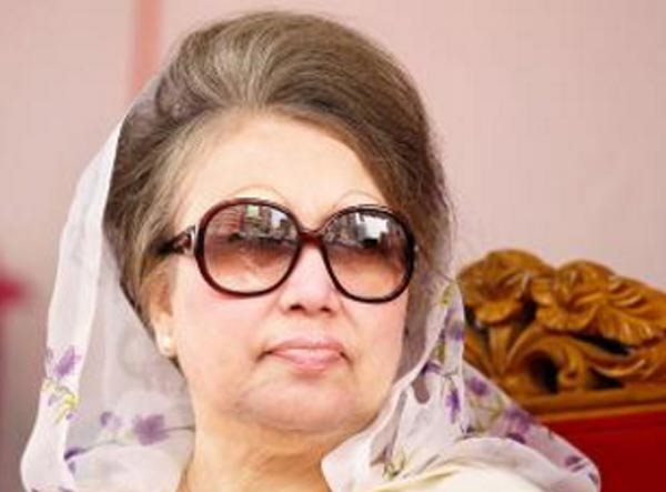 Sedition case filed against Former Bangladesh PM Khaleda Zia