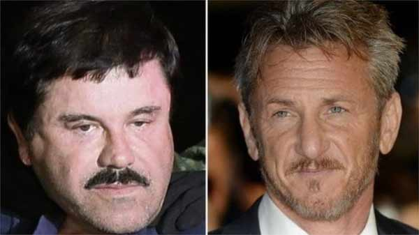 Sean Penn met fugitive Mexico drug lord