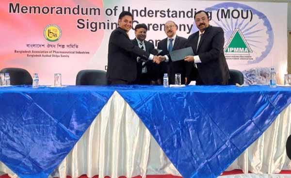 India, Bangladesh pharma sign MoU