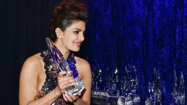 Priyanka wins People's Choice Award