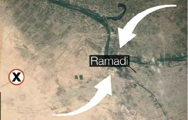 IS pursues Ramadi counterattacks
