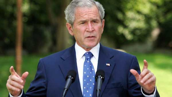 George W Bush tops Wikipedia list