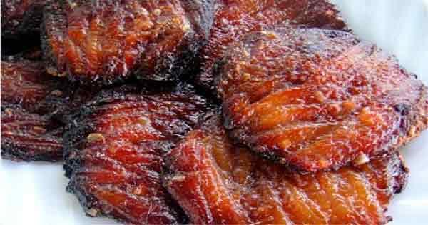Fish tocino, a classic dish