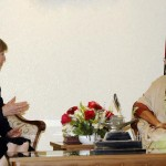 UK High Commissioner to Bangladesh Alison Blake and Bangladesh PM Sheikh Hasina