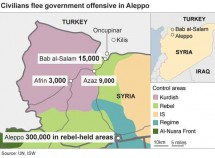 Aleppo fighting displaces 50,000 people: Red Cross