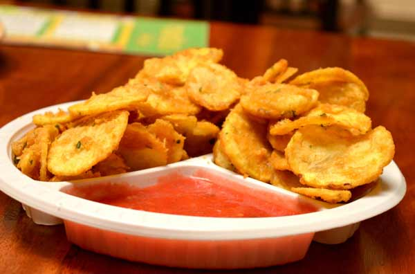 Tasty potato bhaijas, a light snacks