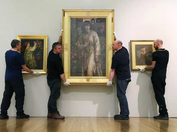 Dante Gabriel Rossetti's hidden copy unveils, 135 yrs on