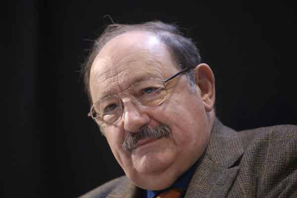 Italian writer Umberto Eco dies at 84