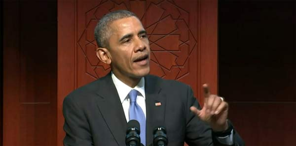 Obama condemns anti-Muslim rhetoric